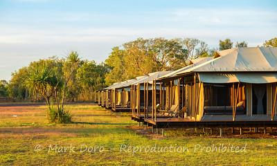 Safari tents, Wildman Wilderness Lodge, Mary River, Northern Territory