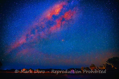 The MIlky Way over the wetlands of the Mary River, Northern Territory