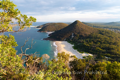 View from Tomaree Mountain
