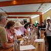 Wine tasting, Wolf Blass winery in the Barossa Valley.