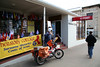 The letter-carriers in Australia are a bit unusual, in that they nearly all deliver the mail by way of Honda trail 90s. And I mean rain, sleet, or snow, too.