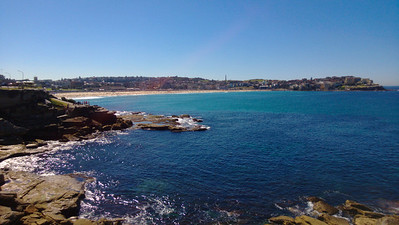 approaching bondi beach from the south