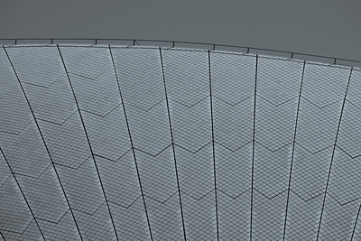 opera house roof detail