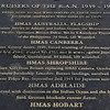 2019-02-22_18_Queenscliff_Canberra Memorial Plaque.JPG<br /> <br /> My mom's first husband, Ron Pitcher, was killed on the HMAS Canberra at Guadacanal in 1942.  This plaque near Melbourne commemorated the Canberra and other ships that were lost during WWII.