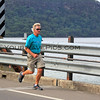 2016-03-27_1576_Tony_Peats Bridge.JPG<br /> <br /> Tony re-enacts his father's run with the 1956 Olympic torch across Peats Bridge over the Hawkesbury River