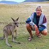 2016-03-23_1379_Pebbly Beach kangaroo_Tony.JPG<br /> <br /> Tony hanging out with another totally tame kangaroo at Pebbly Beach, South Coast.
