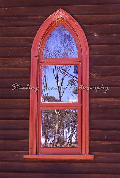 Church window, WA