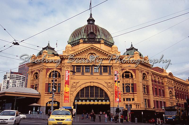 Flinders St Station, Vic