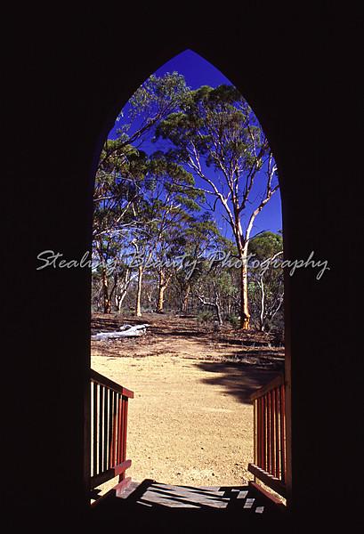 Church door, WA