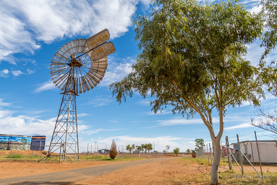 windmill in Boulia, QLD