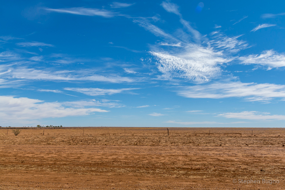 driving outside of Bulia, QLD