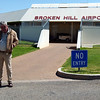 GA at Broken Hill Airport, NSW.