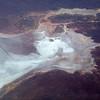 In flight over South Australia