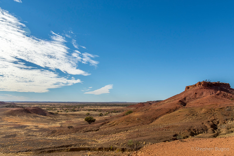 Outback scenery from Cawnpore Lookout.