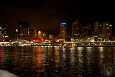 Brisbane City an night