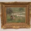 Camille Pissarro<br /> La lessive a Eragny