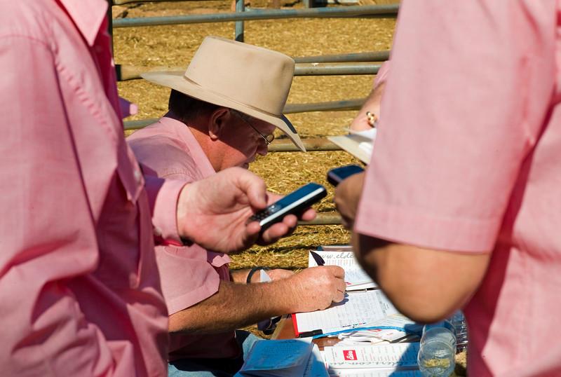 Registering bidders