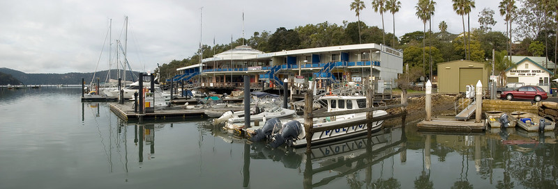 Brooklyn marina Brooklyn. NSW Australia - 21 Jun 2006