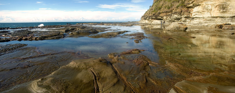 Rock pool Avoca Beach Central Coast. NSW Australia - 23 Jun 2006