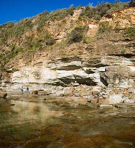 Gill and Tim  at Avoca beach headland Avoca, New South Wales Australia - 23 Jun 2006