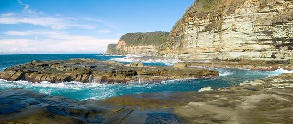 Rock island Avoca Beach Central Coast, NSW Australia - 23 Jun 2006