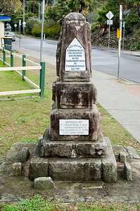 Hawkesbury River Discovery commemorative Brookly, NSW Australia - 21 Jun 2006
