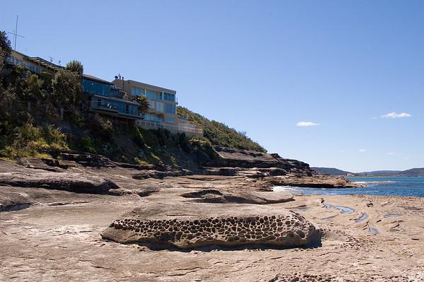 Shoreline Pearl Beach Central Coast - NSW Australia - 9 Oct 2005