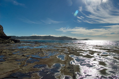 Rock headland Avoca Beach Central Coast, NSW Australia - 23 Jun 2006