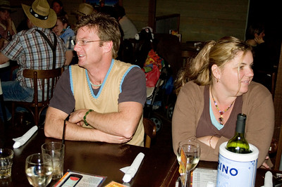 Ben and Larissa At the SSS restaurant Tamworth, New South Wales Australia - 16 Jun 006