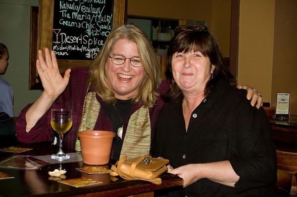 Dheera and Gill At the SSS restaurant Tamworth, New South Wales Australia - 16 June 2006