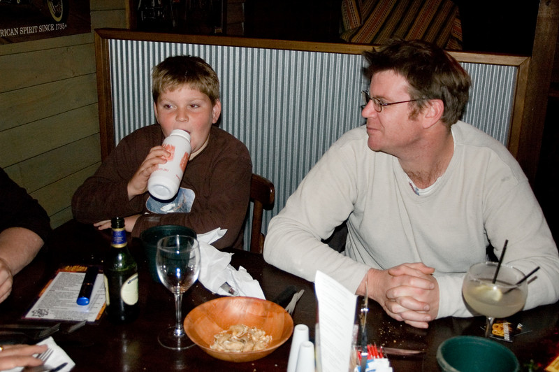 Toby and Tim At the SSS restaurant Tamworth, New South Wales Australia - 16 Jun 006