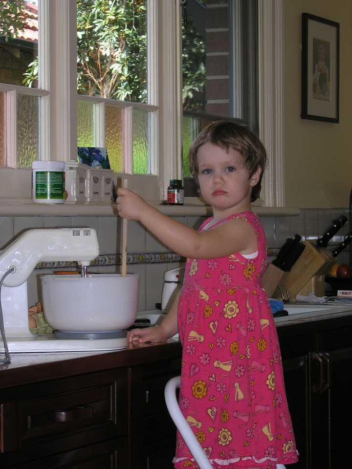 Abigail baking