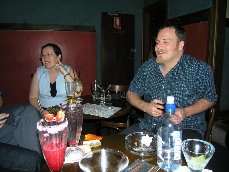 Laura and Simon at Kuletos