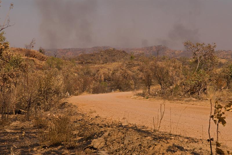 Bushfire, King Leopold Range