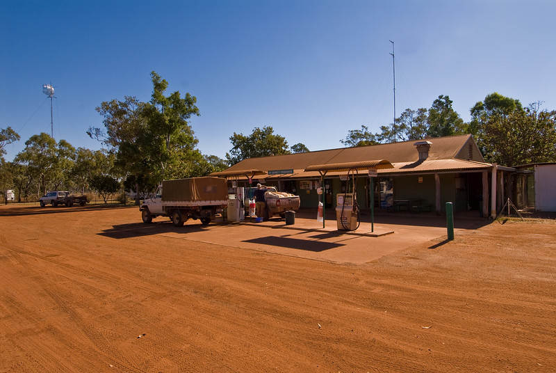 Mount Barnett Roadhouse.