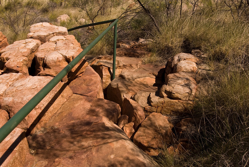 Access path, Sir John Gorge. Wheelchairs at your own risk!