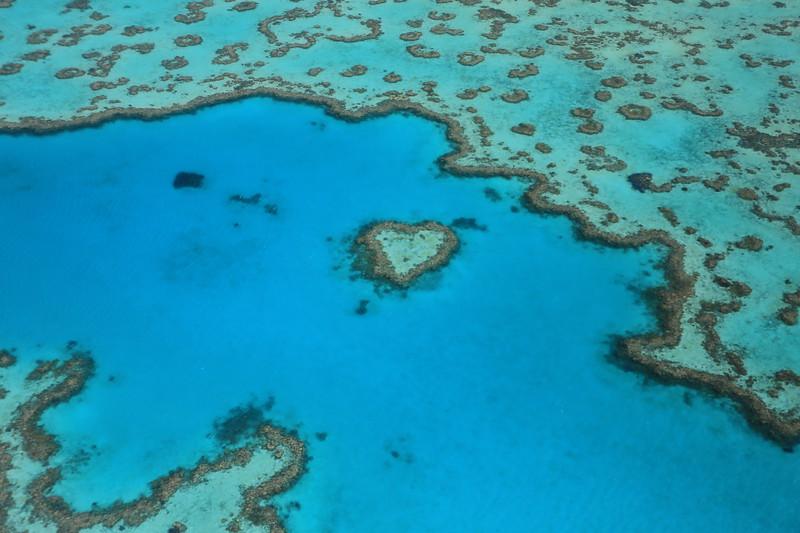Heart Reef in Hardy Reef