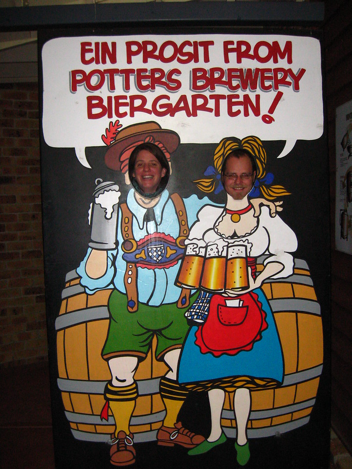 Photo taken by Susan at Potter's Brewery