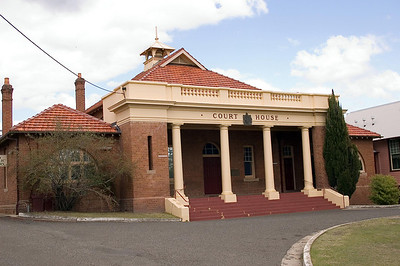 Court House Cessnock - NSW Australia - 29 Sep 2005