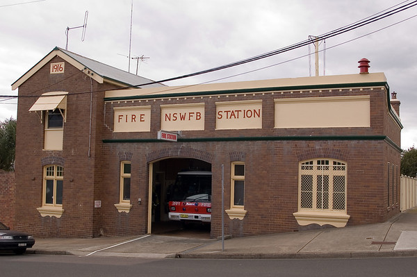 Fire Station Cessnock - NSW Australia - 29 Sep 2005