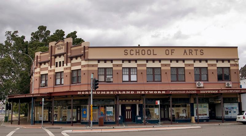 Art School Cessnock - NSW Australia - 29 Sep 2005
