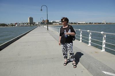 Gill on St Kilda pier Melbourne Victoria Australia - Feb 2005