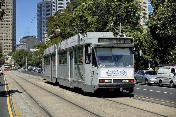 Victoria Parade Melbourne Victoria Australia - Feb 2005