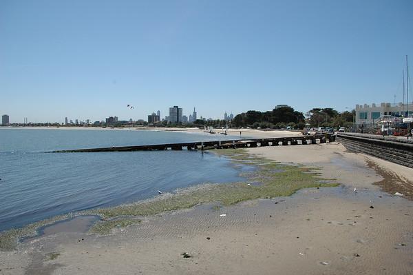 Pier St Kilda Melbourne Victoria Australia - Feb 2005