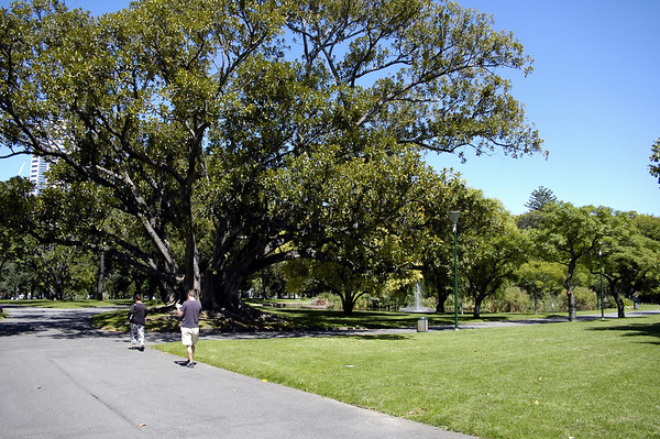 Carlton Gardens Melbourne Victoria Australia - Feb 2005