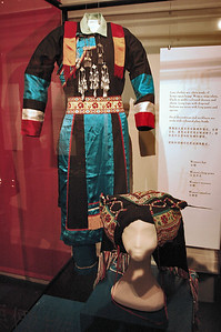 Traditional ethnic costumes - China Immigration Museum Melbourne Australia - Feb 2005