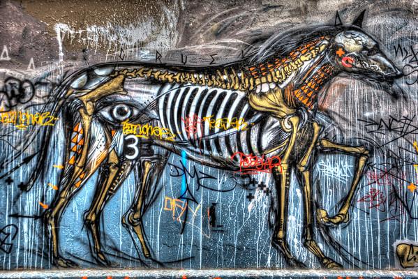 Graffiti Art on Hosier Lane