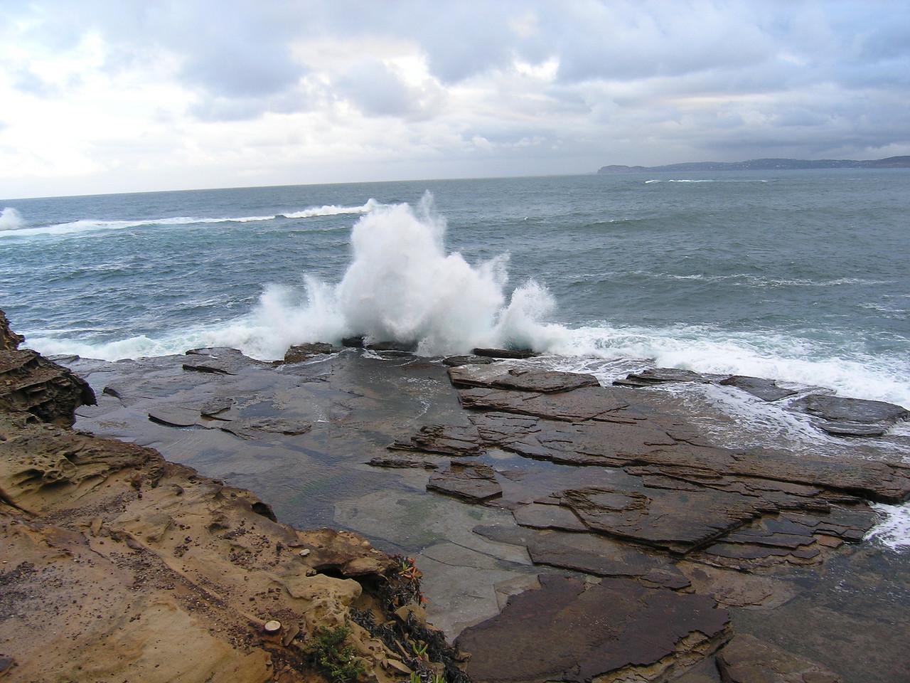 Waves near Wamberal