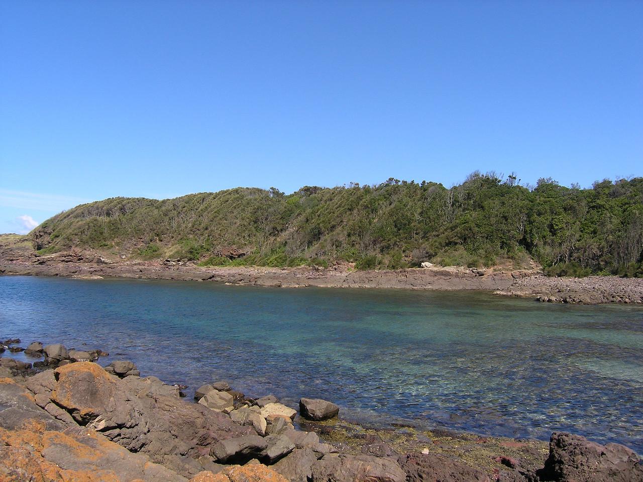 Bushrangers Bay, near where Holly grew up