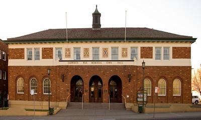 War Memorial Town Hall Tamworth, New South Wales Australia - 17 Jun 2006